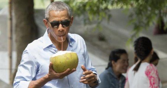 Barack Obama a Bali per le vacanze