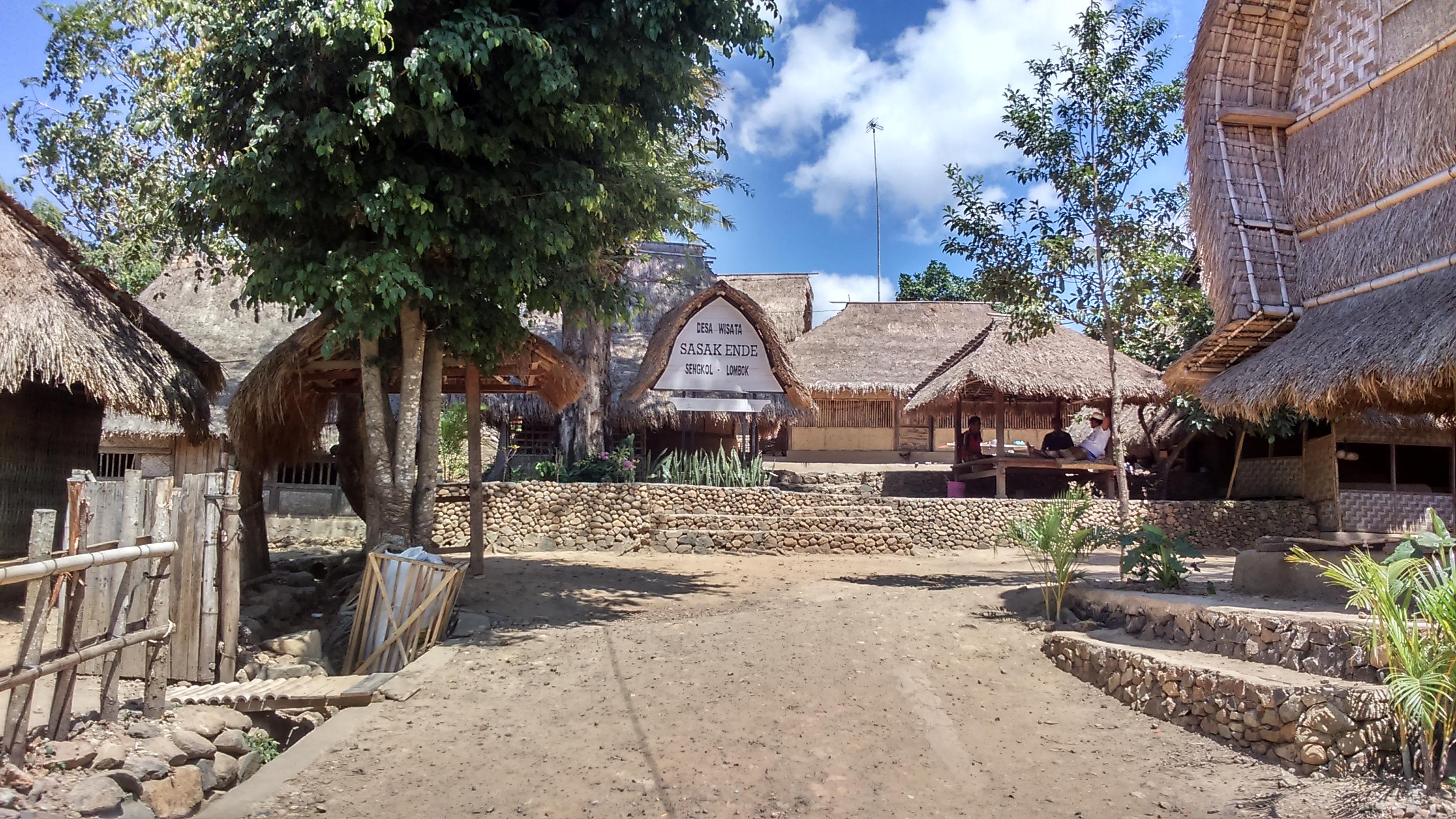villaggio tradizionale lombok