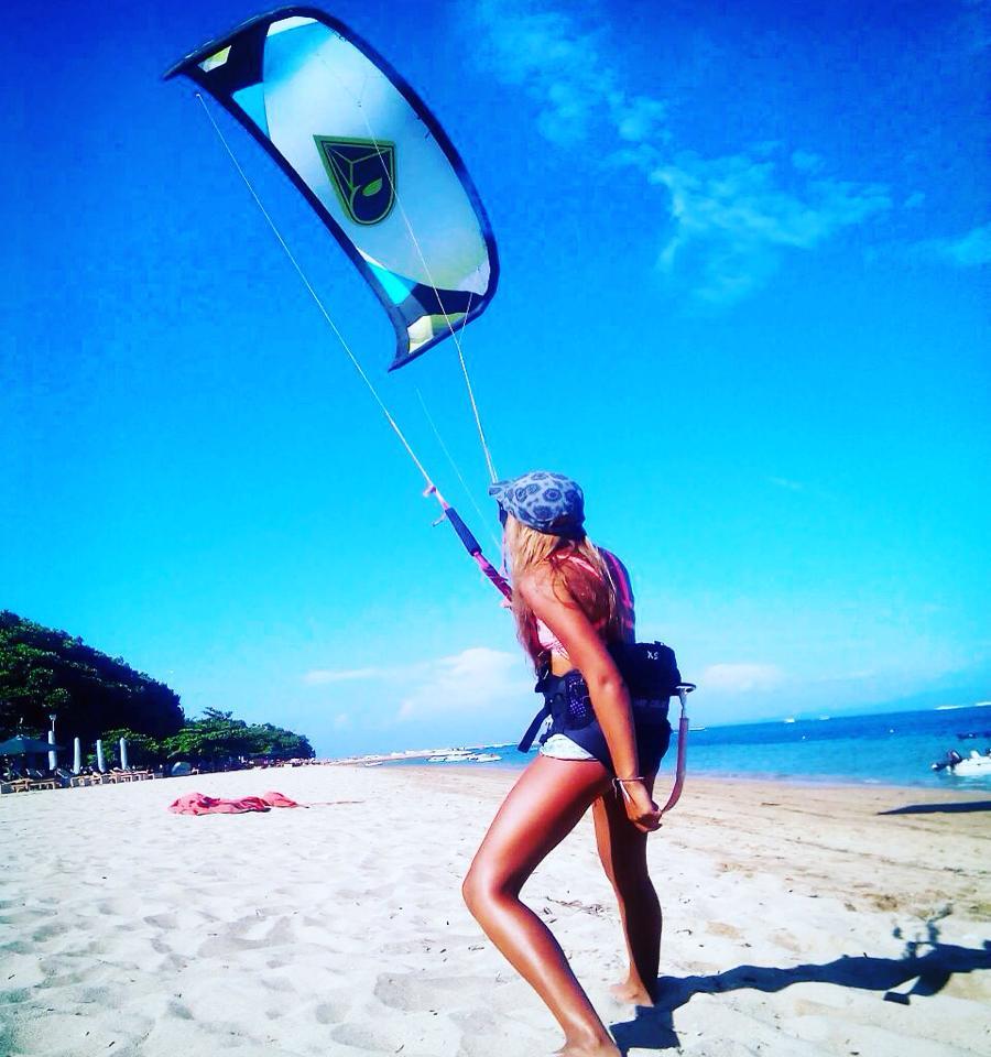 Kitesurf a Bali: divertimento e sport sull'Oceano Indiano