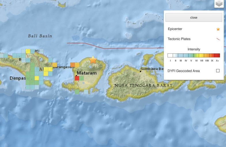 Terremoto a Lombok – ultimi aggiornamenti