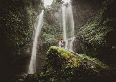 Tour delle cascate Sekumpul e dei templi patrimonio UNESCO
