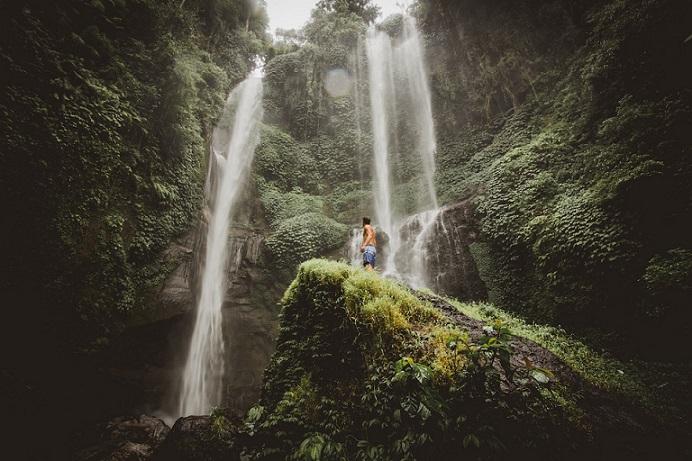 Tour delle cascate di Bali: trekking nella natura del nord