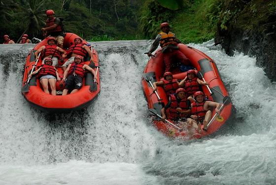 Rafting a Bali: divertimento assicurato sul Telaga Waja River