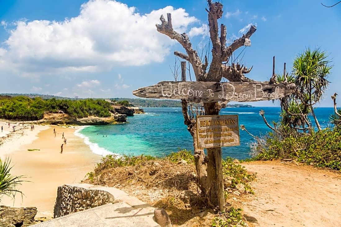 spiaggia nusa lembongan