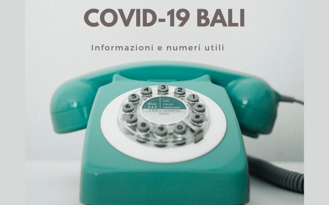 coronavirus bali indonesia