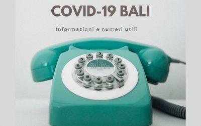 Coronavirus a Bali: informazioni e numeri utili COVID-19