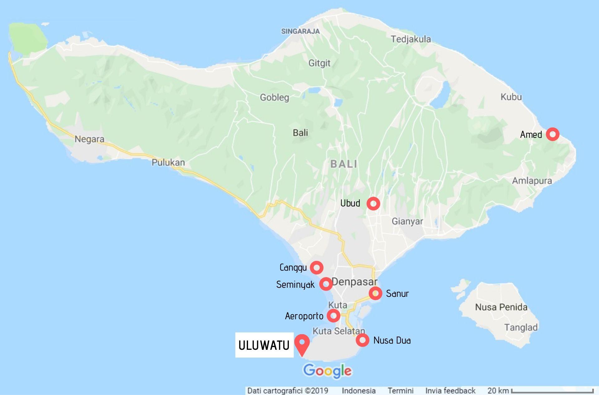 Guida Uluwatu