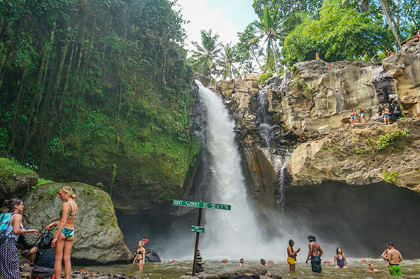 cascate vicino Ubud