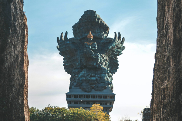 Tour culturale del sud di Bali: GWK, tempio Uluwatu e danza