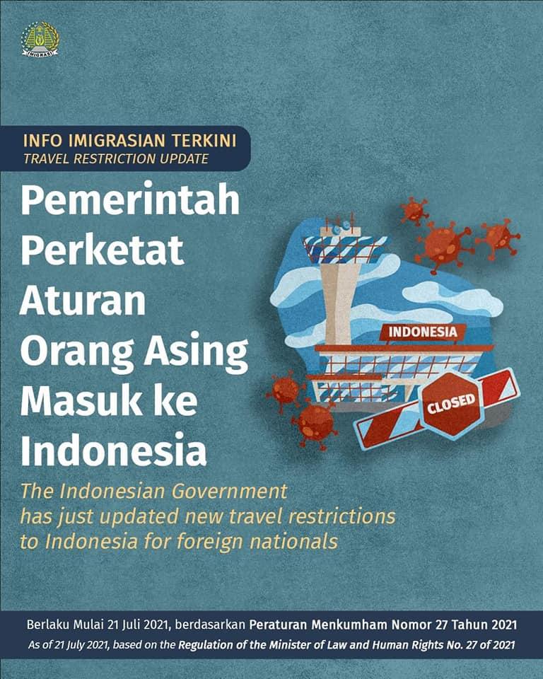arrivo stranieri Indonesia